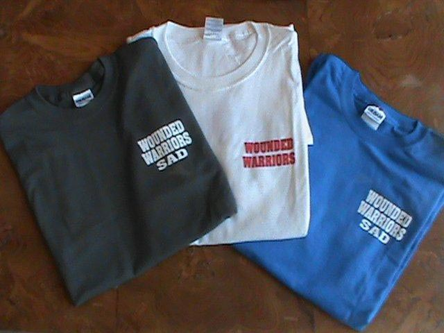 Wounded Warriors Sons and Daughters of America T-shirts